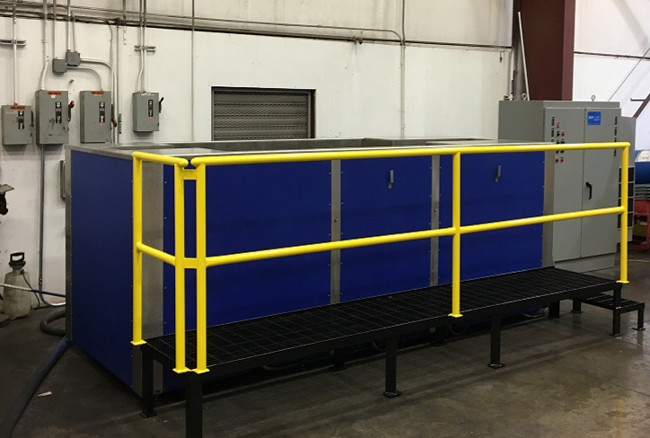 12 foot Ultrasonic Cleaning Tank