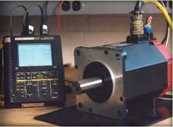Testing of servo motor