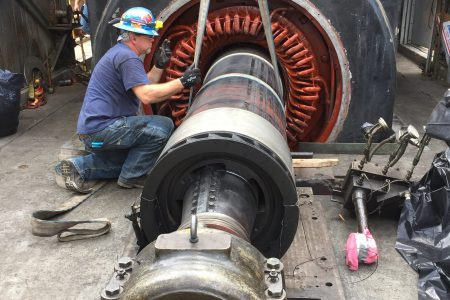 Technical Field Service, Turbine Repair