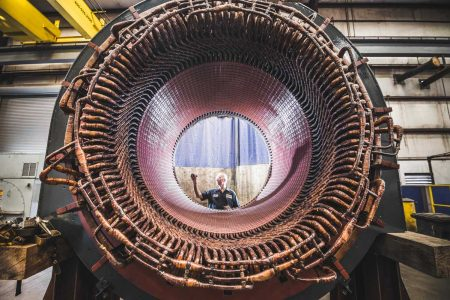 Turbine Generator, Electric Motor Repair, Large Turbine Generator