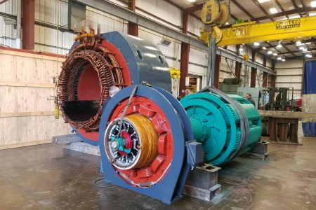 Turbine Generator, Electric Motor Repair, Exciter, Rotor